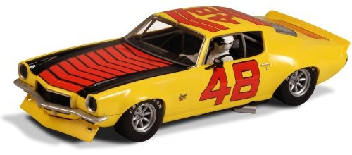 scalextric 1972 chevrolet camaro z-28 #48, high detail, dpr