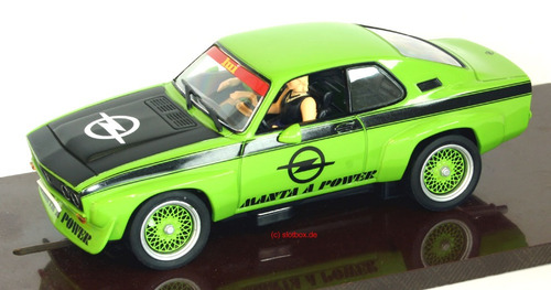 scalextric opel manta carrera evolution nuevos.