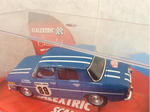 scalextric renault 8 rallye montecarlo