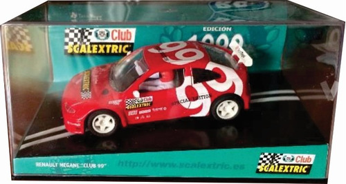scalextric renault megane club 99 slot 1/32 carrera ninco