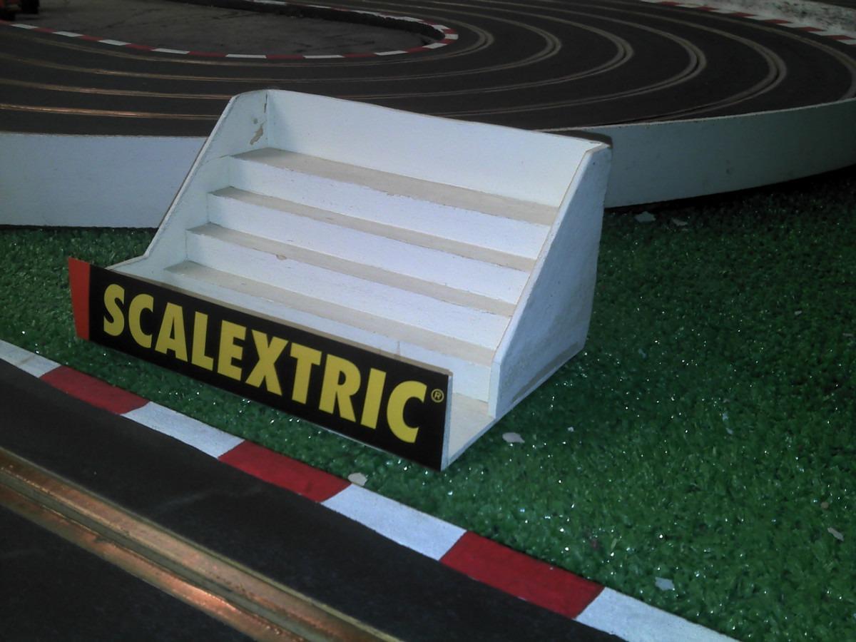 scalextric decoracion maquetas para pistas slot 100