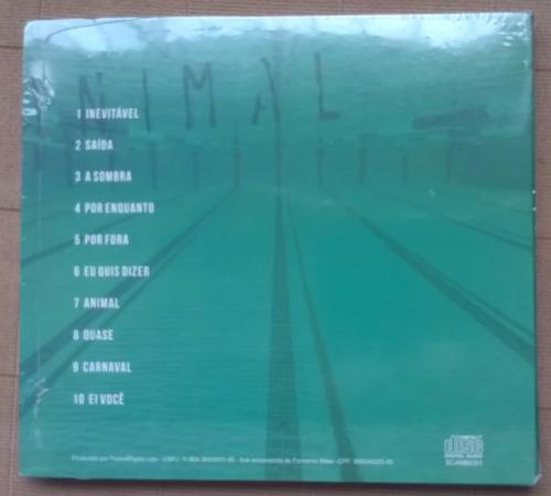scambo - animal - cd lacrado original