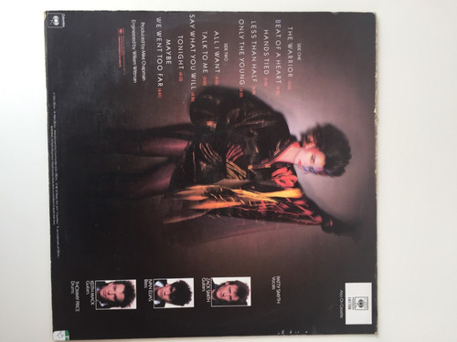 scandal patty smyth - warrior lp vinilo