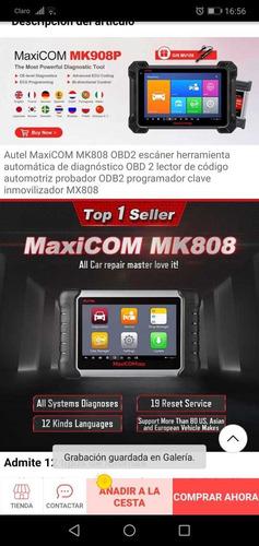 scaner autel maxicom mk808