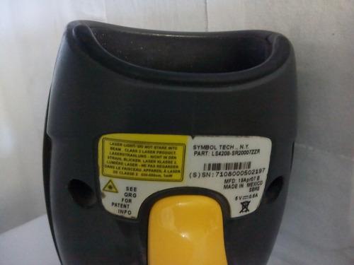 scaner codigo de barras symbol / motorola ls4208 cable usb