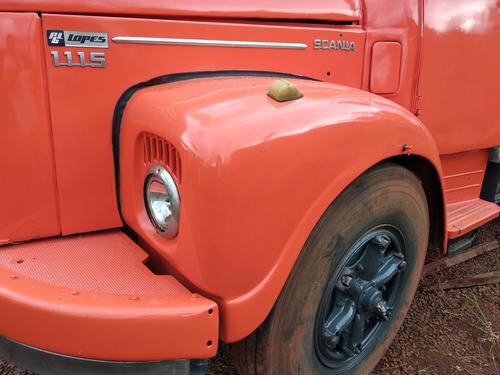 scania 111 caminhão