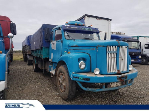 scania 111 camion eje simple eq. completo granelero 1980