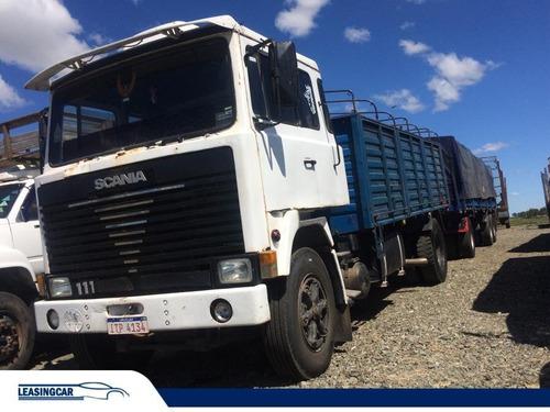scania 111 camion granelero 1980 impecable!