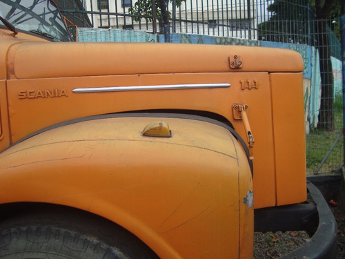 scania 111 -gabine leito sem motor e cambio ano 1972