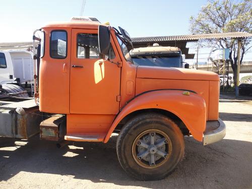 scania 111 -  laranja - ano 1976