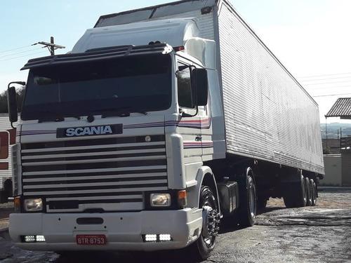 scania 112 1982 4x2 frontal com kit 113 eixos 2012 sem troca
