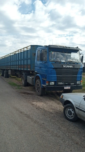 scania 112 h tractor y jaul