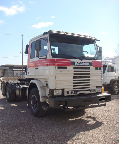scania 113 h360 1993 tractor 6x2 anticipo + financiacion
