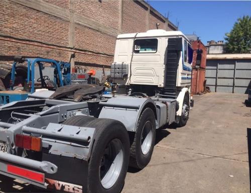 scania 113h 320 6x2 tractor, impecable estado!!