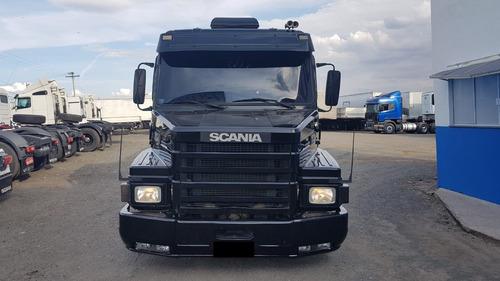 scania 113h topline 4x2 1995/96 preto (1210)