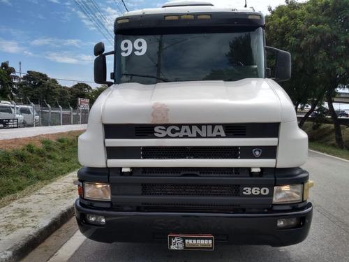 scania 114 360 trucado, 1999, revisado!113/aceito troca
