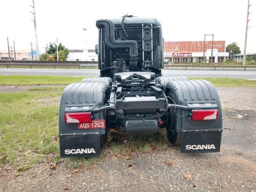 scania 124 g 420 6x4 bug leve*
