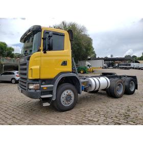 Scania 124 G 420 B 6x6 C/109.542 Km Financiamos!