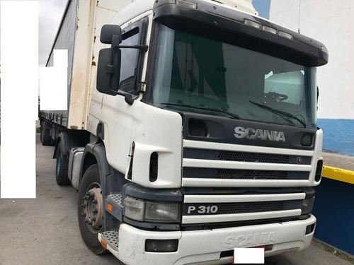 scania 310 - caminhão agregado-  aceitamos carro de entrada