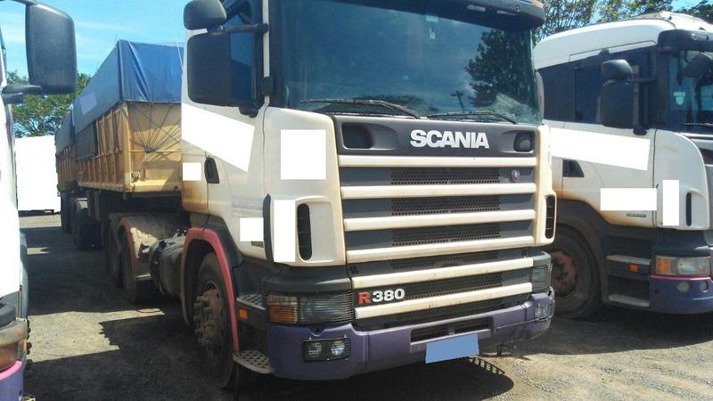 scania 380 caminhões