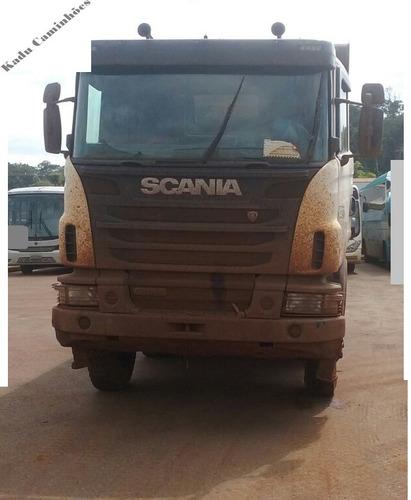 scania 8x4 g440 2014 completíssima revisada e com garantia