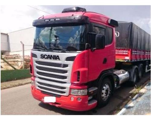 scania g 380 (2012) cavalo truck carreta guerra graneleira.