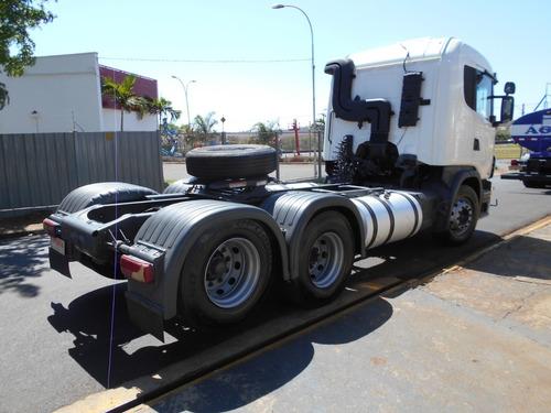 scania g 420 2010 6x2 único dono itália caminhões