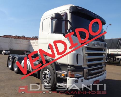 scania g 420 6x4 bug leve ano 2008/09 de santi caminhões