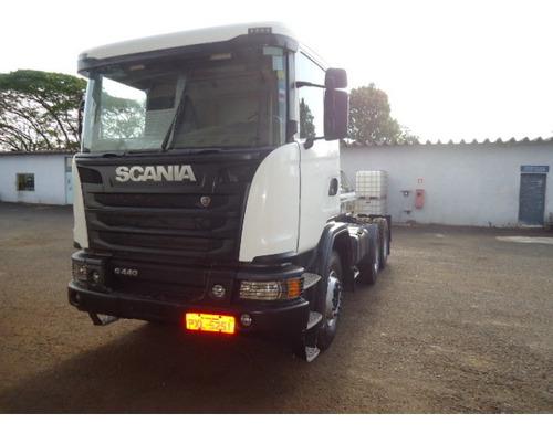 scania g 440 440 6x4 boogie pesado
