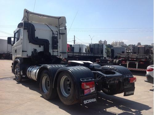scania g 440 6x2 2013 conservado, caminhão de primeira.