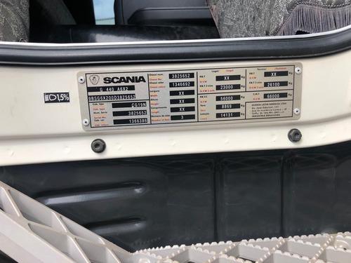 scania g 440 6x2 2013/13 branco com 684716 km bem conservado