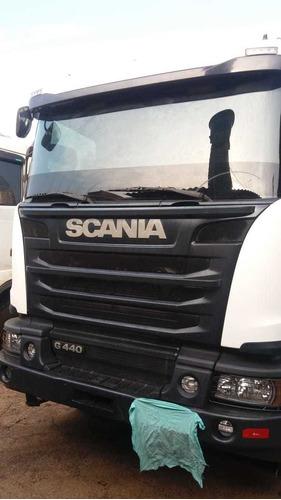 scania g 440 6x4 2015 bug pesado canavieiro r$ 240.000.