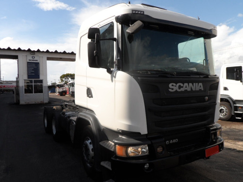 scania g 440 6x4 bug pesado cab leito 2014/2015 opticruise