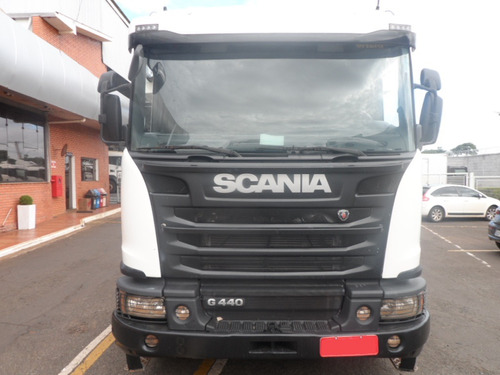 scania g 440 6x4 bug pesado cab leito 2015/2015 opticruise