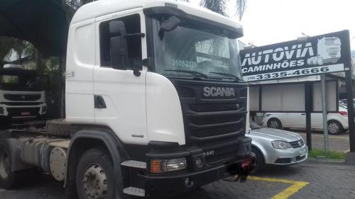 scania g 440 6x4 cavalo traçado bug pesado 2015 r$ 220.000.