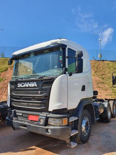 scania g 440 6x4 opticruise rodoviário 2018 / financiamos