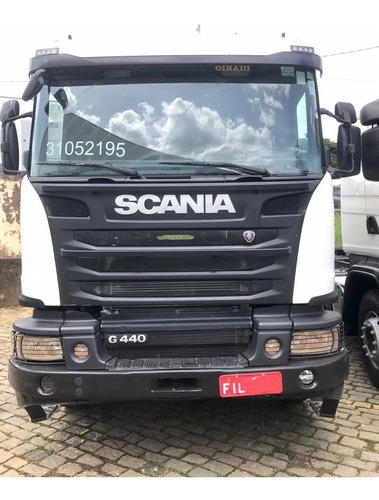 scania g 440  opticruise  6x4  boogie pesado