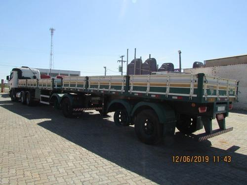 scania g 470 6x4 carreta bitrem carga seca 7,50m