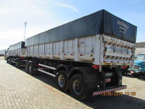scania g 470 6x4 carreta rodocaçamba c/ pneus