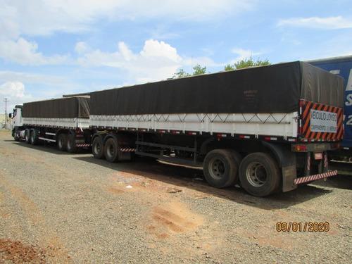 scania g 470 6x4 carreta rodotrem graneleiro c/ pneus