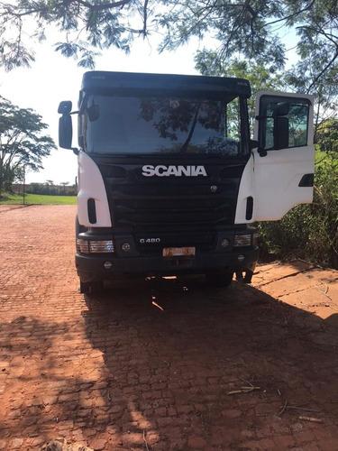 scania g-480 6x4 bug pesado - un. dono