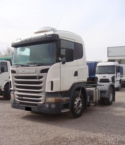 scania g340 frontal caja at. tractor anticipo + financiacion