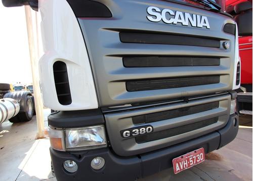 scania g380 - 2009/09 - 6x2 i revisado (avh 5730)