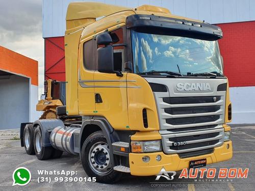 scania g380 6x2 melhor que fh 380 iveco nr410  scania r440