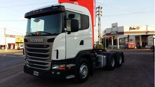 scania g380 6x4 at año 2011 - entrega y cuotas fijas en $
