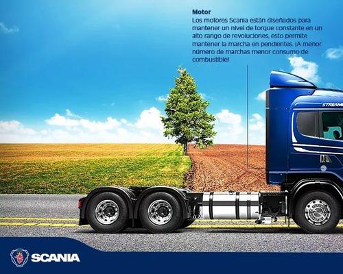 scania g410  camión  0 km, streamline 6x2