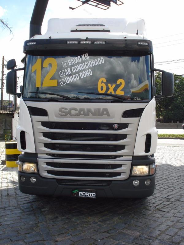 scania g420 6x2 2012