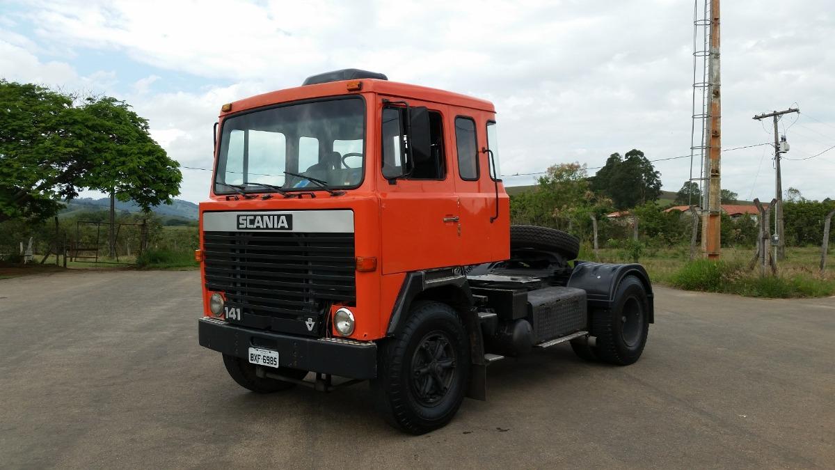 Scania Lk 141 V8. - R$ 49.500 em Mercado Libre