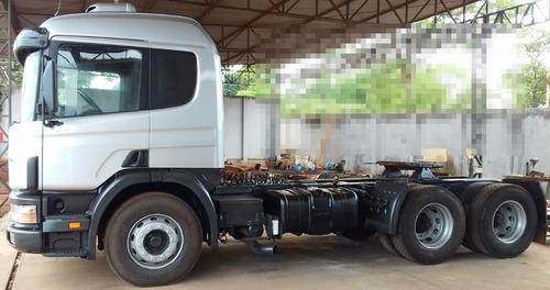 scania p-114 ga 330 6x2 nz 03/03 - cavalo truck, cab leito *