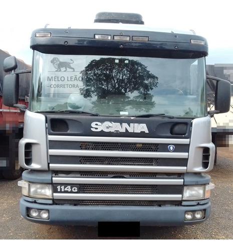 scania p-114 ga 330 6x2 nz 04/04 - cavalo truck, cab leito *
